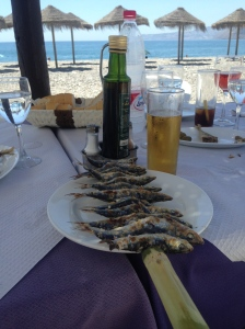 Guilt free eating and drinking by the beach